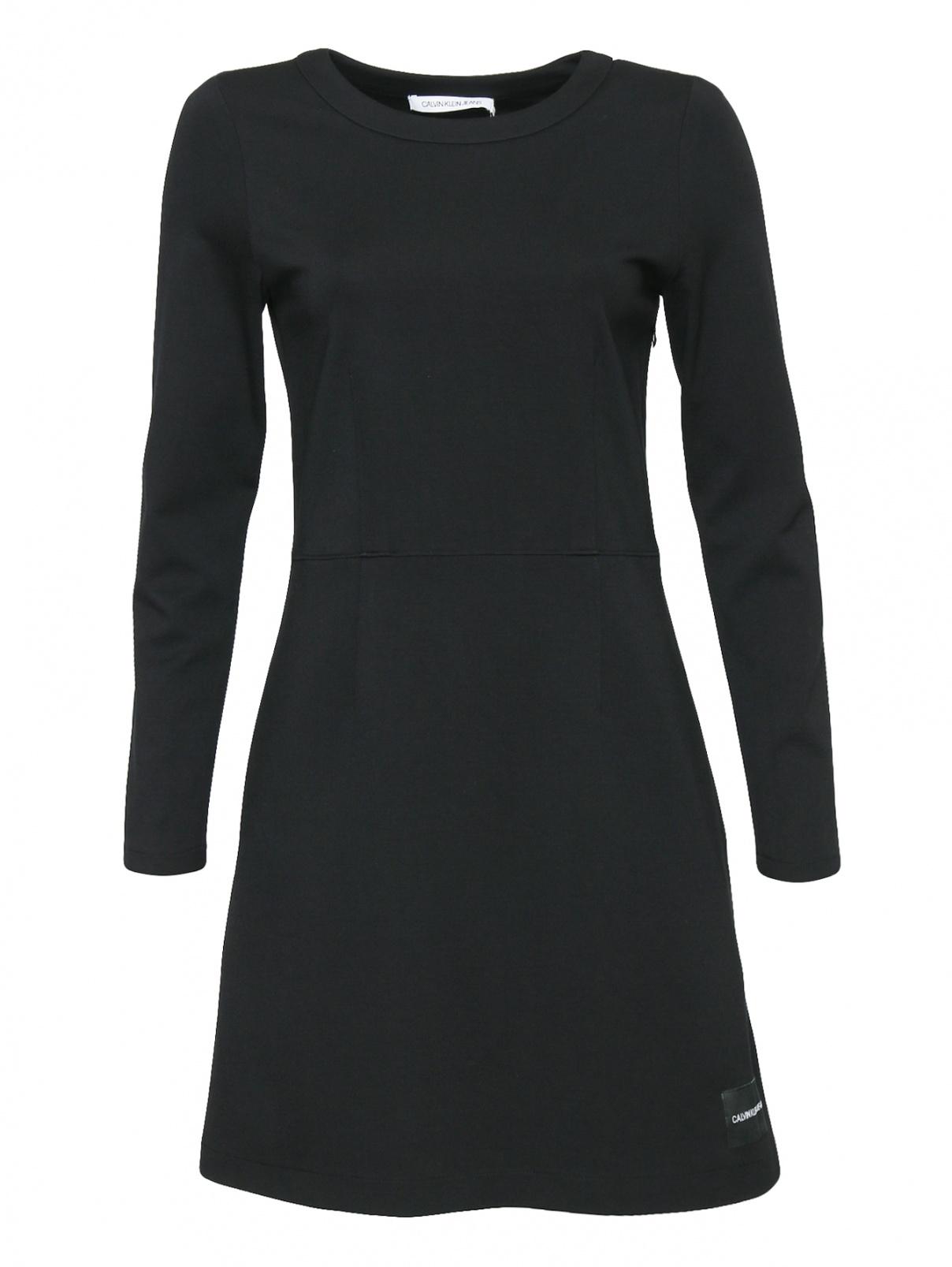 Платье-мини с круглым вырезом Calvin Klein Jeans  –  Общий вид