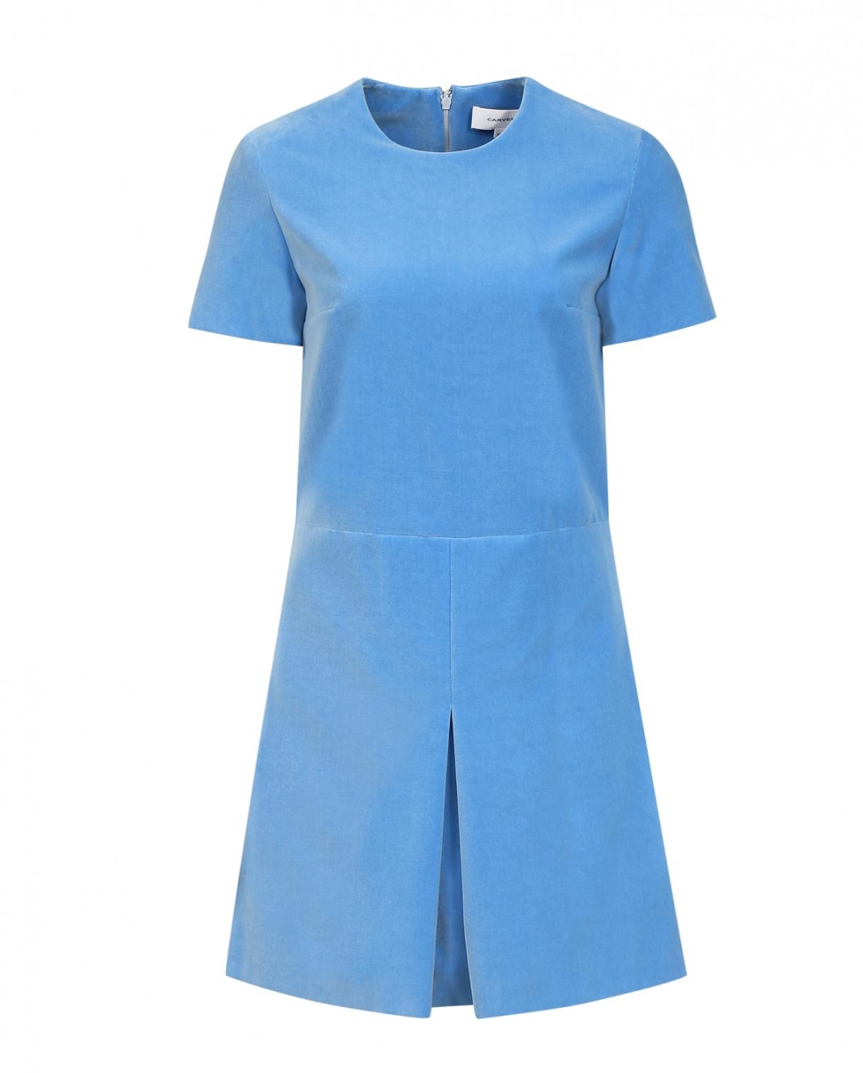 Бархатное платье-мини Carven  –  Общий вид