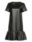 Платье-мини из фактурной ткани Moschino Boutique  –  Общий вид