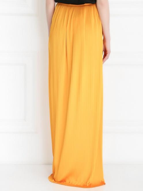Плиссированная юбка-макси - Модель Верх-Низ1