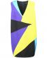 Платье-мини из шелка прямого кроя Marina Rinaldi  –  Общий вид