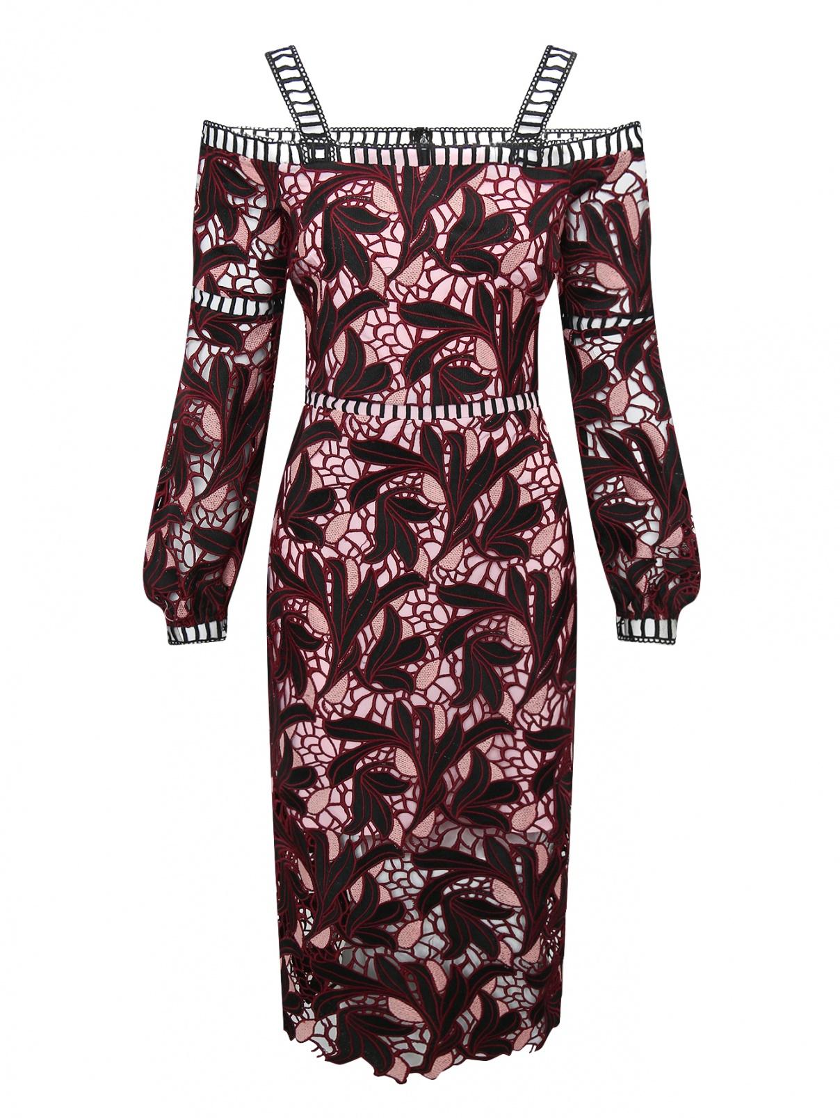 Платье с узором Elliatt  –  Общий вид