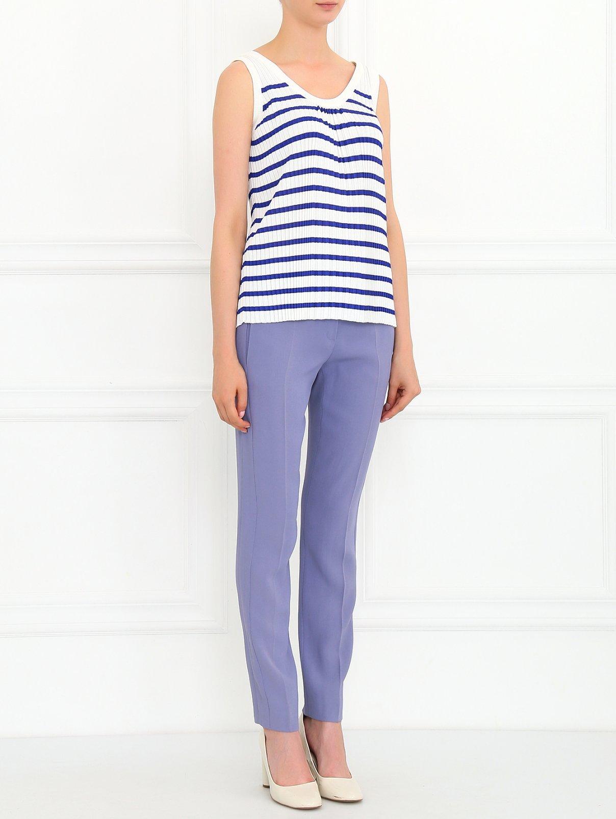 Зауженные брюки с боковыми карманами Emporio Armani  –  Модель Общий вид