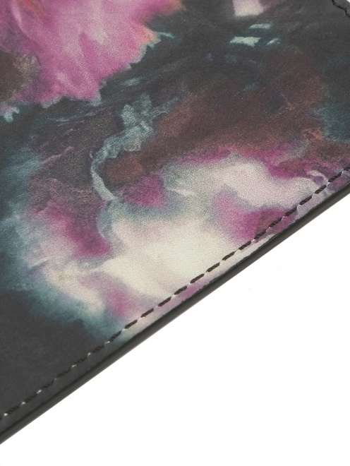 Чехол для IPhone 4 из кожи с цветочным узором - Деталь