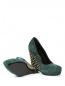 Туфли из замши на танкетке со скрытой платформой декорированные шипами Giacomorelli  –  Обтравка5