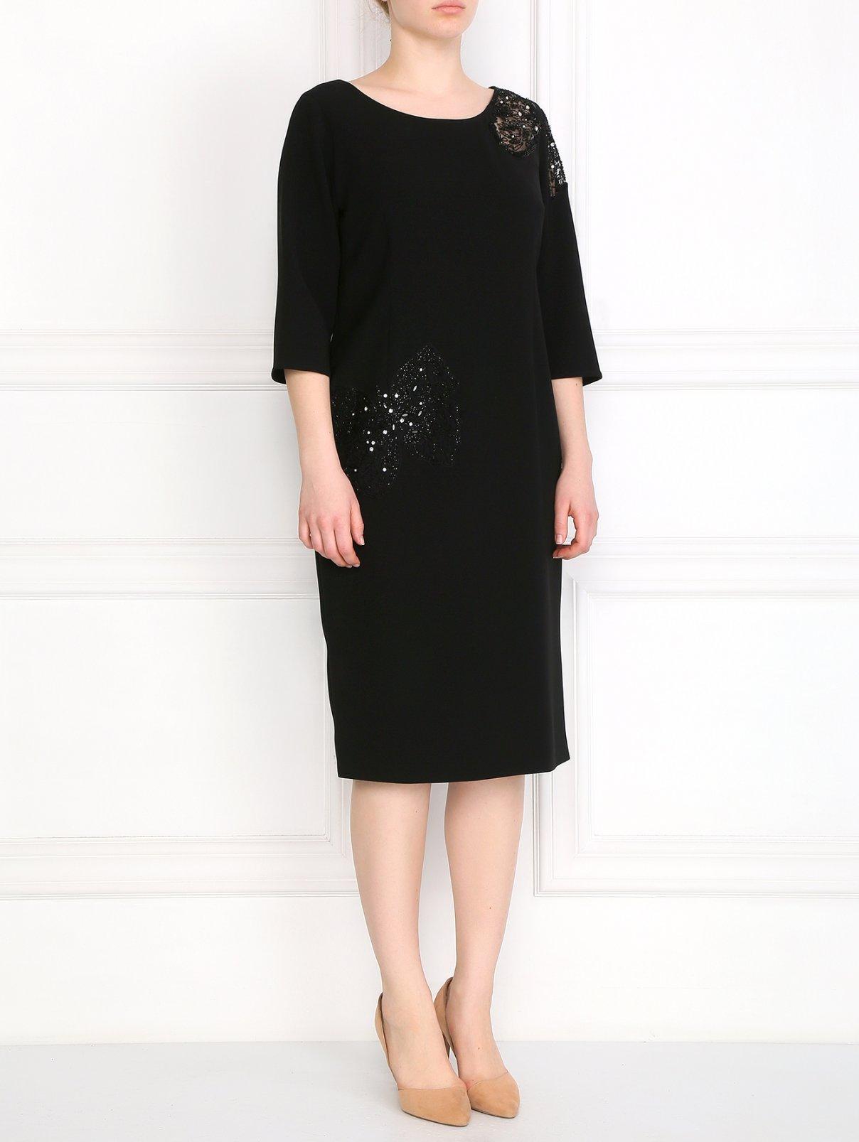 Платье декорированное бисером Marina Rinaldi  –  Модель Общий вид