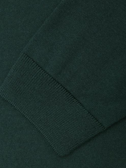 Джемпер однотонный из шерсти  - Деталь1