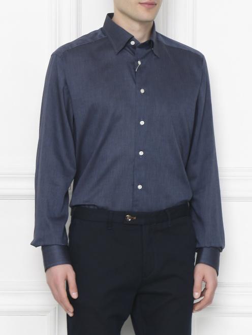 Рубашка из хлопка  - МодельВерхНиз