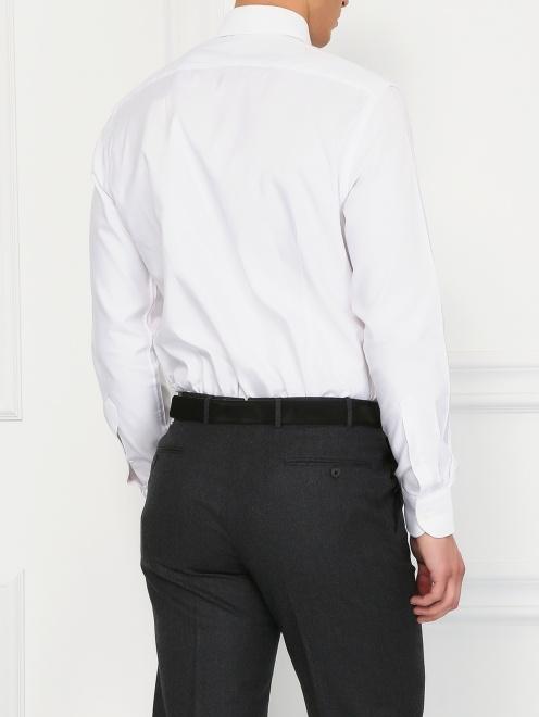 Классическая хлопковая рубашка  - Модель Верх-Низ1