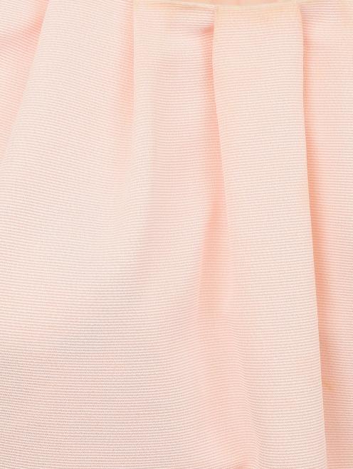 Платье-мини из хлопка - Деталь