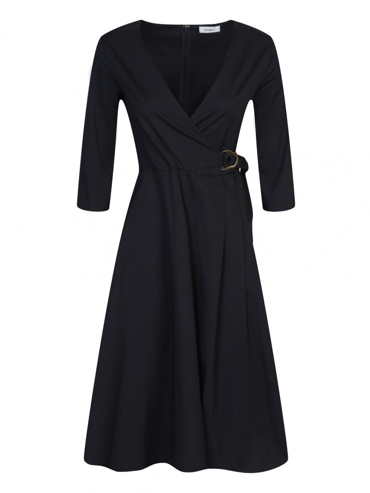 Платье из хлопка с запахом Max&Co  –  Общий вид