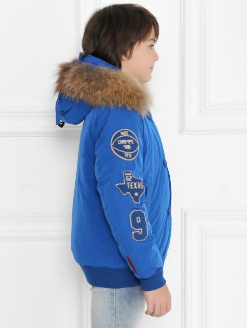 Куртка утепленная с капюшоном - МодельВерхНиз2