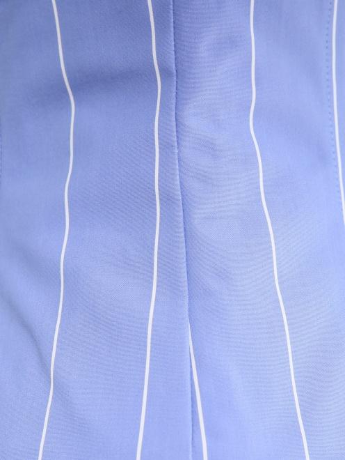 Широкий пояс из хлопка на шнуровке - Деталь1