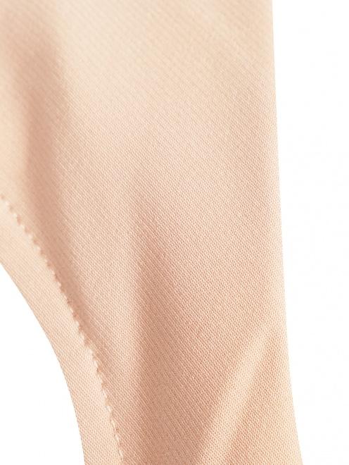 Платье асимметричного кроя с кружевной отделкой - Деталь1