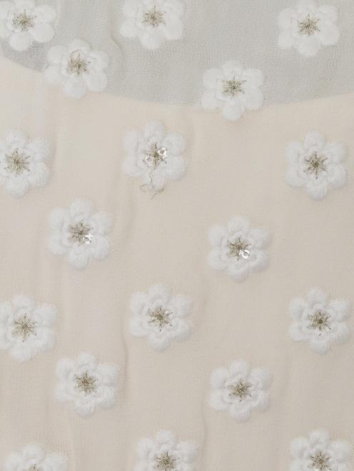 Платье из шелка с вышивкой - Деталь1