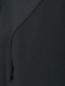 Платье-мини из шерсти свободного кроя с карманами Emporio Armani  –  Деталь