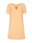 Платье-мини с декоративной фурнитурой с кристаллами Marina Rinaldi  –  Общий вид