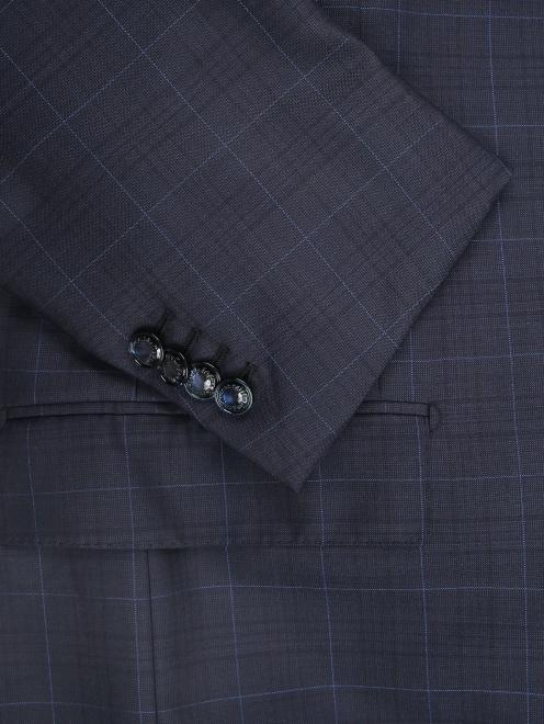 Пиджак из шерсти с узором - Деталь