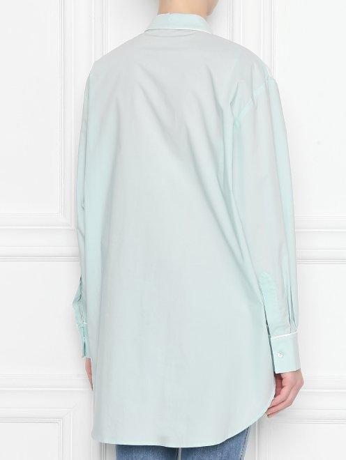 Блуза из хлопка с вышивкой - МодельВерхНиз1