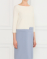 Платье-футляр с защипами Moschino  –  Модель Верх-Низ
