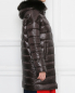 Пуховик с мехом лисы на капюшоне Herno  –  МодельВерхНиз2