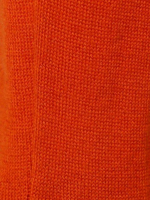 Болеро из шелка и кашемира с длинными рукавами - Деталь1