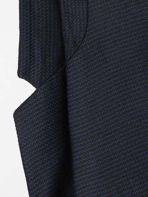 Пиджак из шерсти и шелка - Деталь1