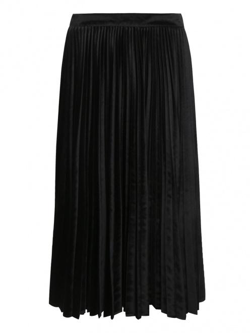 Бархатная юбка-плиссе - Общий вид