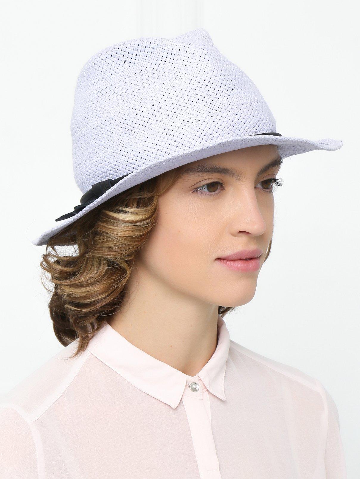 Шляпа с контрастной отделкой Emporio Armani  –  Модель Общий вид