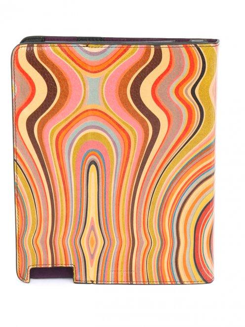 Чехол для iPad из кожи с узором - Обтравка2