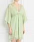 Платье из рами свободного кроя Ermanno Scervino  –  Модель Верх-Низ