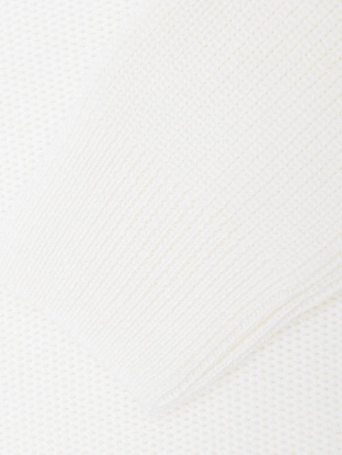 Свитер из смешанной шерсти с горлом  - Деталь1