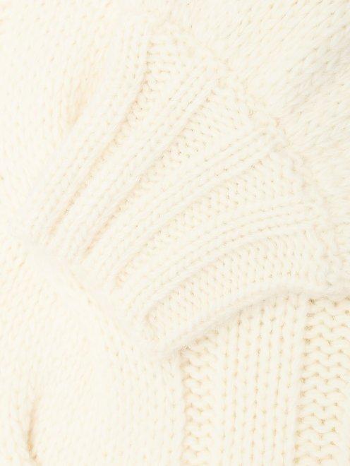 Джемпер из шерсти с косами - Деталь1