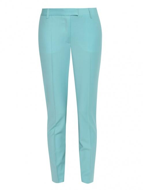 Укороченные брюки из шерсти со стрелками - Общий вид