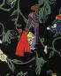 Юбка-миди из шелка асимметричного кроя с цветочным узором TIBI  –  Деталь1