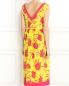 Платье из шелка с цветочным узором P.A.R.O.S.H.  –  Модель Верх-Низ1