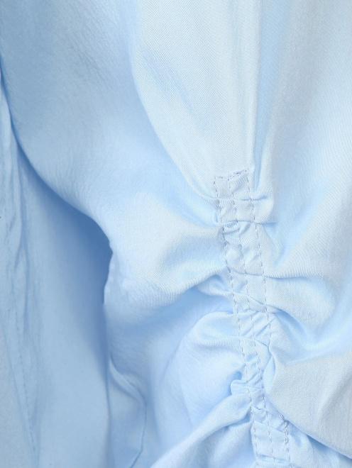 Блуза из шелка со сборкой - Деталь1