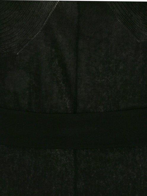 Платье-мини с рукавами 3/4 - Деталь1