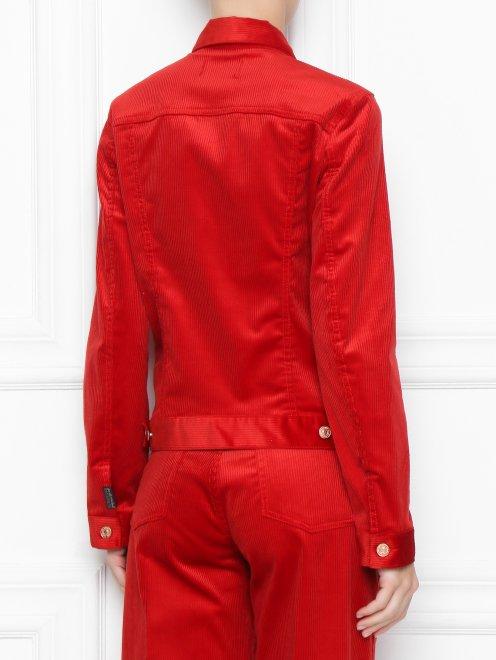 Вельветовая куртка  - МодельВерхНиз1