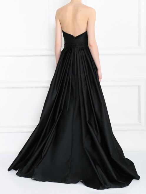 Платье-макси с декоративной аппликацией - МодельВерхНиз1