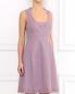 Платье из хлопка без рукавов Moschino Cheap&Chic  –  Модель Верх-Низ