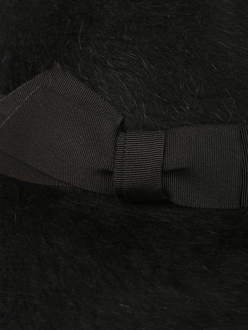 Шляпа из шерсти с широкими полями - Деталь