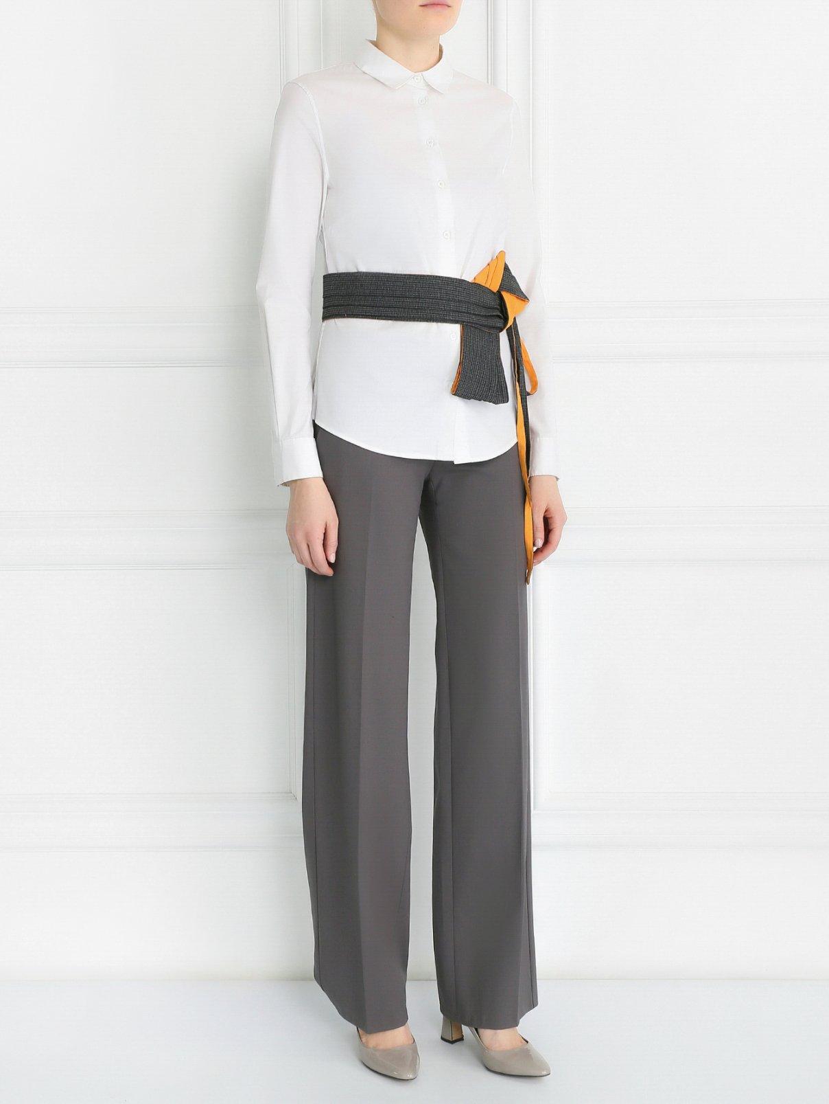 Пояс из текстиля Antonio Marras  –  Модель Общий вид  – Цвет:  Серый