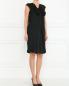 Платье из шелка с декоративным бантом Alberta Ferretti  –  Модель Общий вид