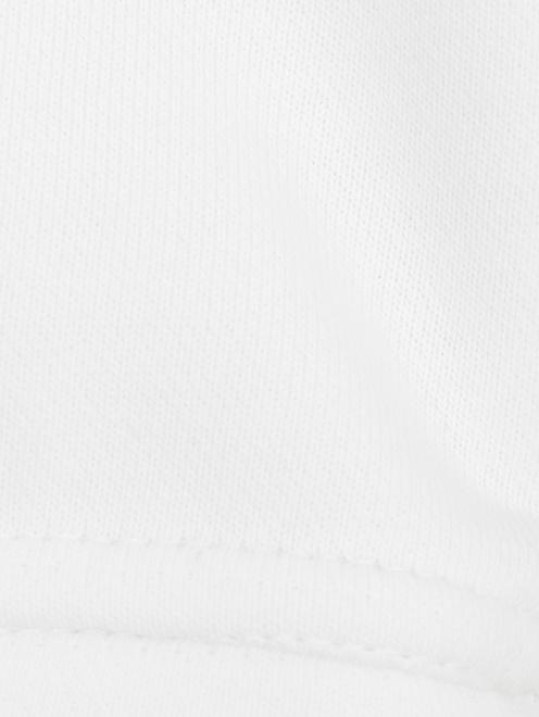 Свитшот хлопковый с принтом - Деталь1