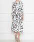 Платье из шелка с цветочным узором Max Mara  –  МодельВерхНиз1