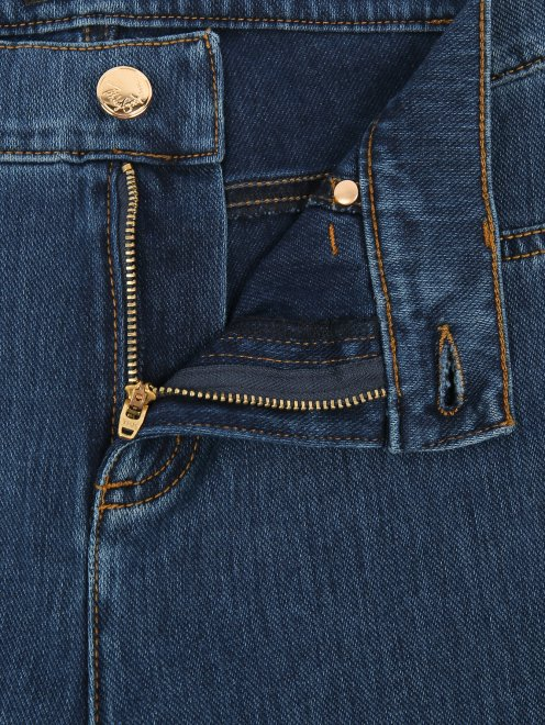 Зауженные джинсы из эластичного денима - Деталь1