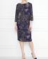 Платье из шерсти с узором пейсли Natalia Picariello  –  МодельОбщийВид