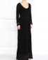 Платье в пол из трикотажа Philosophy di Alberta Ferretti  –  Модель Общий вид