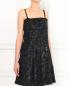 Платье-мини на съемных бретелях с декоративным бантом на спине Mariella Burani  –  Модель Верх-Низ